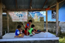 Children are fighting, Nusa Lembongan, by marcorossimusic