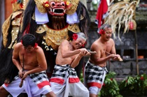Dancers of Barong, Bali, by marcorossimusic
